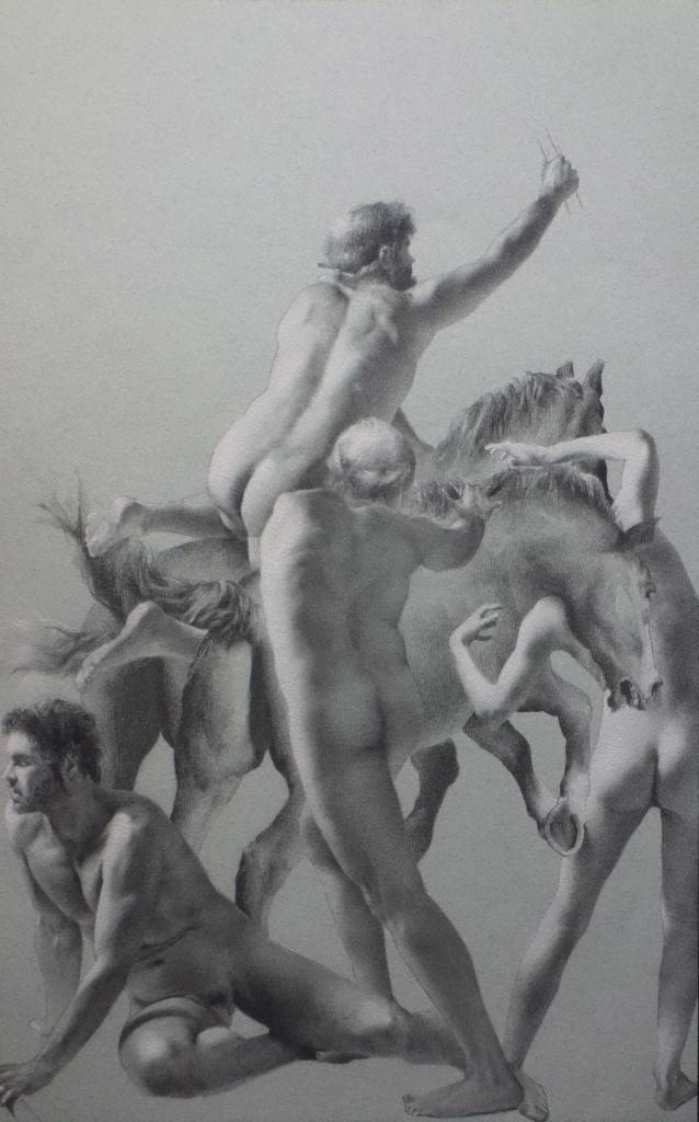 Antoine Verdier - Study Posthumana Vanitas #2 - Panel 1