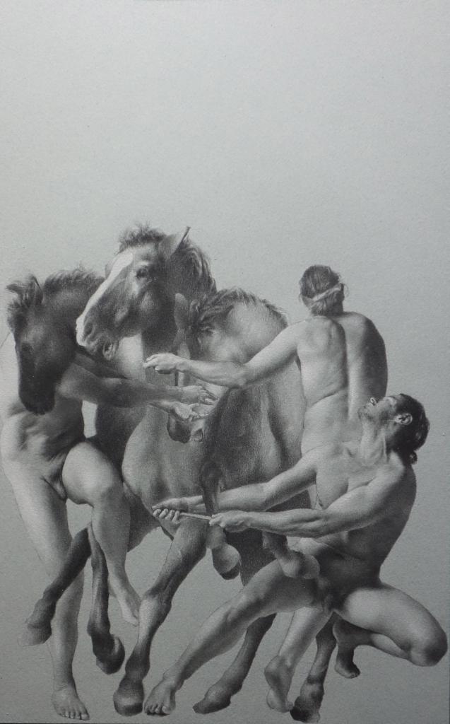 Antoine Verdier - Study Posthumana Vanitas #2 - Panel 2