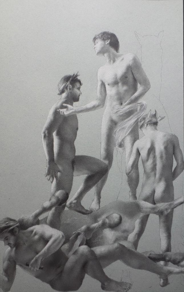 Antoine Verdier - Study Posthumana Vanitas #2 - Panel 3