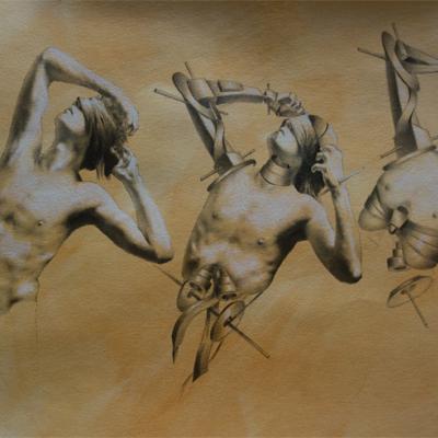 Antoine Verdier - Danse macabre 6